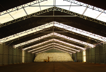 Espaço amplo para armazenamento